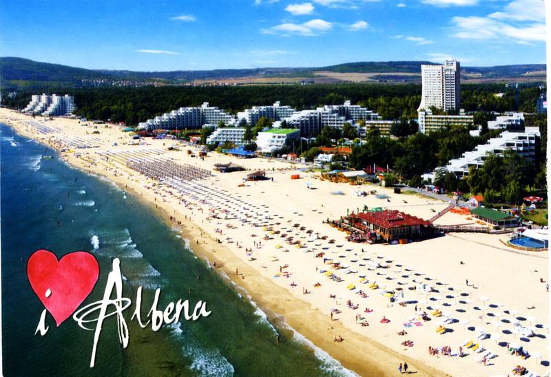 Албена - пляж