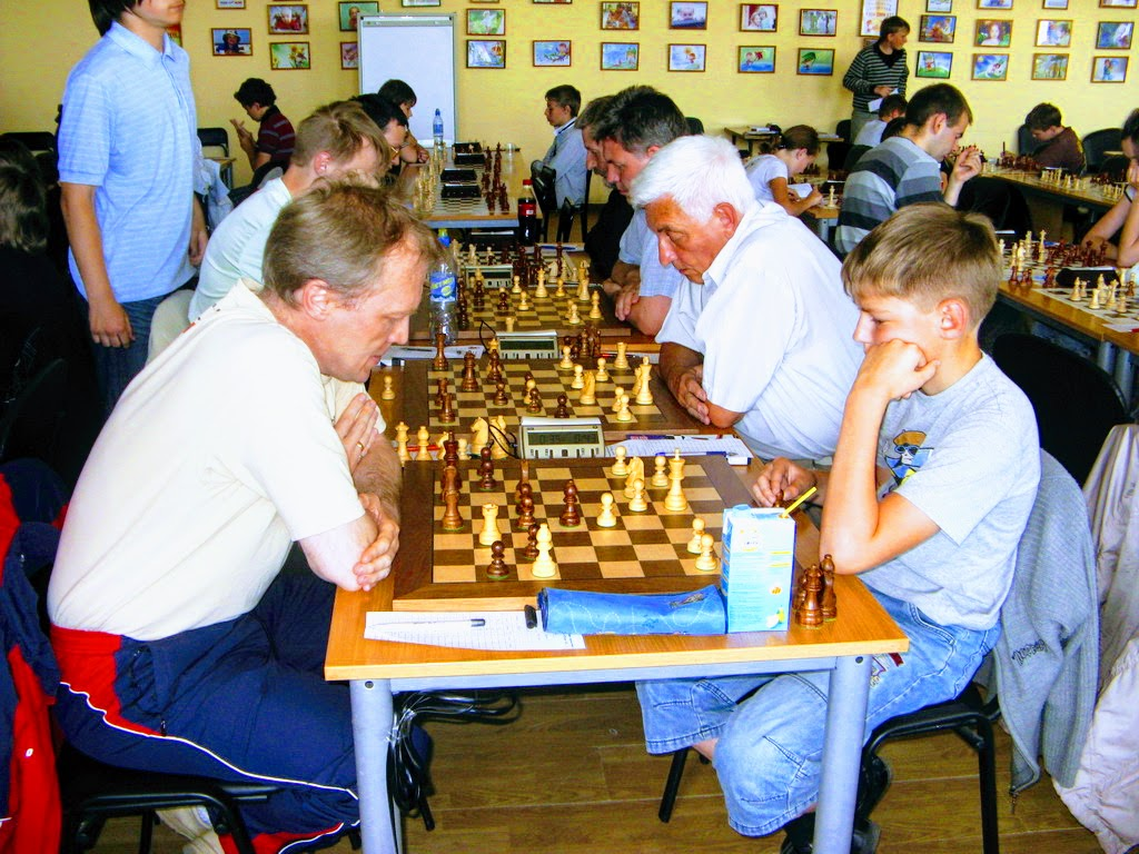Шахматный фестиваль в Пскове в 2011 году